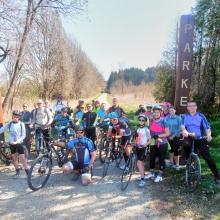 S kolesom do jezera Himfai in gozdnega parka (Őrség 5)